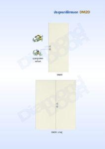 ประตูเหล็กสำหรับใช้ภายนอก (DM2D)